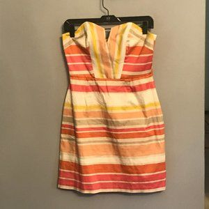Hutch Strapless Fit & Flare Dress, size 8